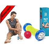 Foot Massage Roller By RIMSports - Ideal Foot Pain Relief Massager -Foot Massager For Heel Spurs - Effective Roller For Feet Roller Massager -Recommended Foot Massager For Runners (Blue)