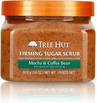 Tree Hut Sugar Scrub Mocha & Coffee Bean, 18oz