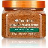 Tree Hut Sugar Scrub Mocha & Coffee Bean, 18oz, Ultra Hydrating and Exfoliating Scrub for Nourishing Essential Body Care
