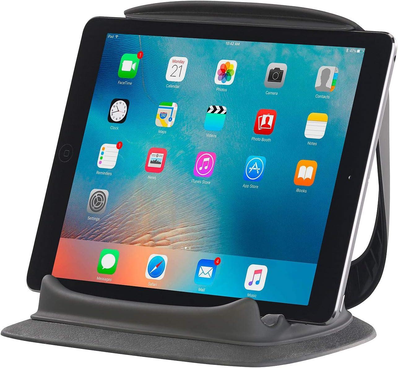 Tablets E-Reader und Handys,Frostschutz und Langlebig Schwarz Esptula St/änder f/ür Tablets Tablethalter Handy Halterung Tabletst/änder Kissen-St/änder Buchst/änder Lesest/änder f/ür Pad