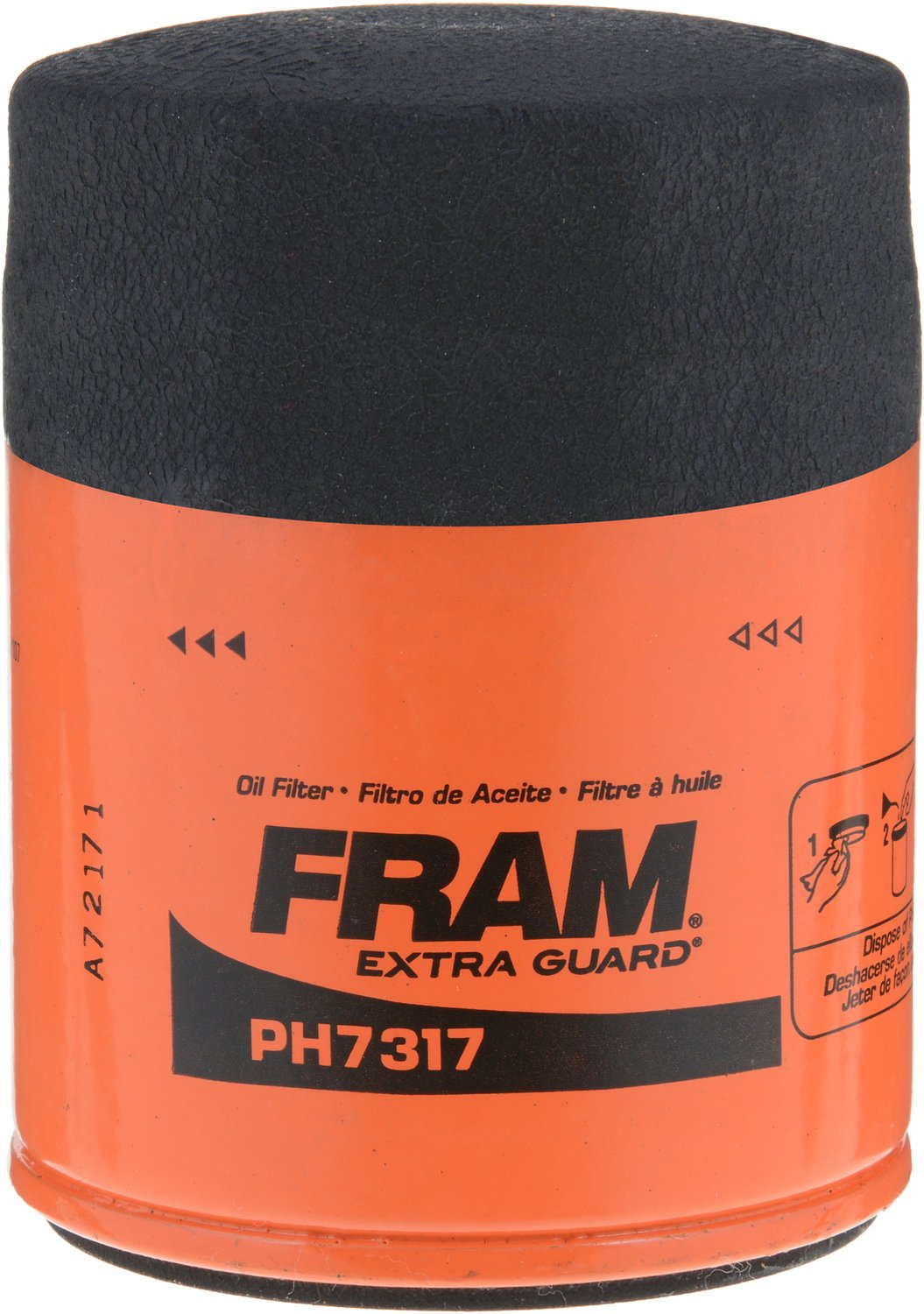 fram ph7317 extra guard passenger car spin on oil filter. Black Bedroom Furniture Sets. Home Design Ideas