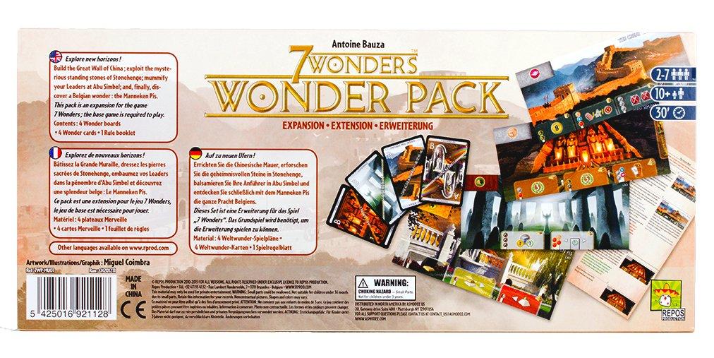 Asmodee 7 Wonders: Wonder Pack Expansion