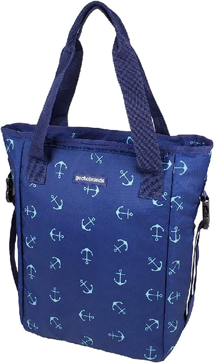 6 Patterns Available geckobrands/2 in 1 Convertible Tote/and/Backpack