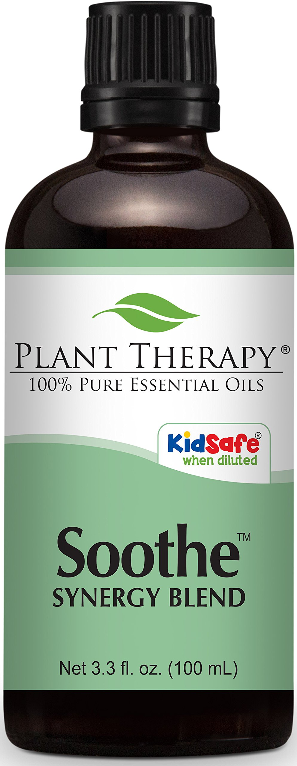Plant Therapy Soothe Synergy Essential Oil 100 mL (3.3 oz) 100% Pure, Undiluted, Therapeutic Grade by Plant Therapy