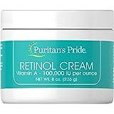 Puritan's Pride Retinol Cream (Vitamin A 100,000 IU Per Ounce)-8 oz Cream