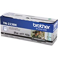Brother Genuine TN223BK, Standard Yield Toner Cartridge, Replacement Black Toner, Page Yield Up to 1,400 Pages, TN223…