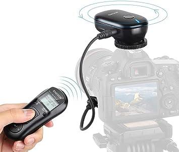Pantalla LCD liberación del obturador con Cable de control remoto temporizador para Canon//Pentax Dslr
