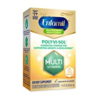 Enfamil Poly-Vi-Sol Liquid Multivitamin Supplement for Infants and Toddlers, 50...
