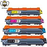 TN241 TN245 Cartuchos de Tóner CMYBabee de Reemplazo para Brother TN-241 TN-245 Compatibles con Brother DCP-9020CDW HL-3140CW HL-3150CDW HL-3170CDW 4-Paquete (4 Negro, 1 Cian, 1 Magenta, 1 Amarillo)