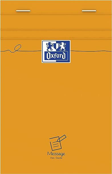 Oxford Office 100106293 - Pack de 10 blocs tipo agenda (11 x 17 cm ...
