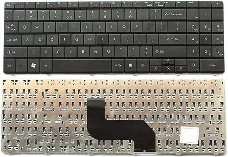 Teclado Americana para ordenador portátil Packard Bell ...