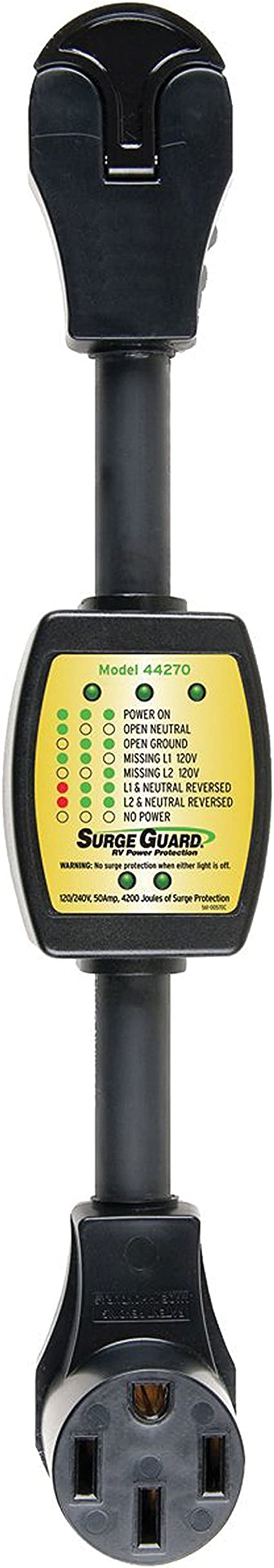 Surge Guard 44260 Entry Level Portable Surge Protector 30 Amp