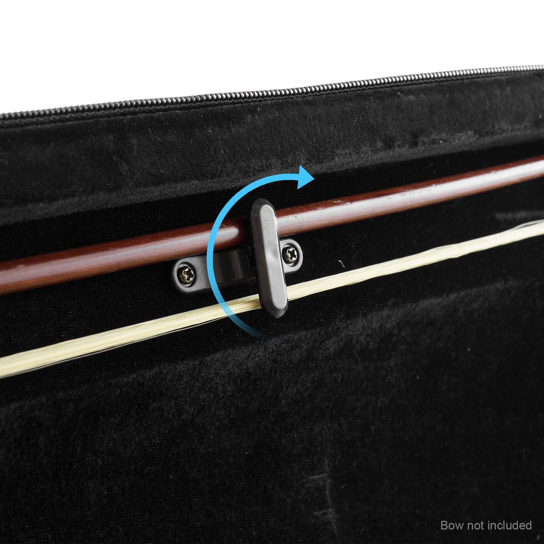 Th/éodore Taille 4//4/pour violon en forme de l/éger Coque rigide