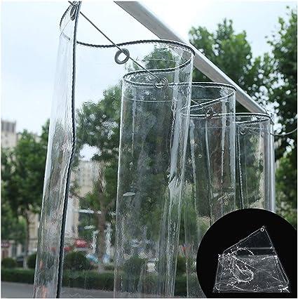 Lona Transparente Impermeable, PVC Transparente De 0.5MM A Prueba De Polvo A Prueba De Lluvia Planta De Jardín Anticongelante Lona De Camping, Varios ...