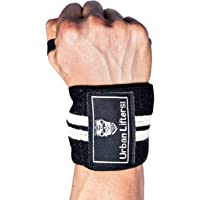 Weight Lifting Wrist Wraps Heavy Duty Wrist Support for Weight Training, Bodybuilding, Olympic Lifting, Power Lifting, Crossfit and Strongman