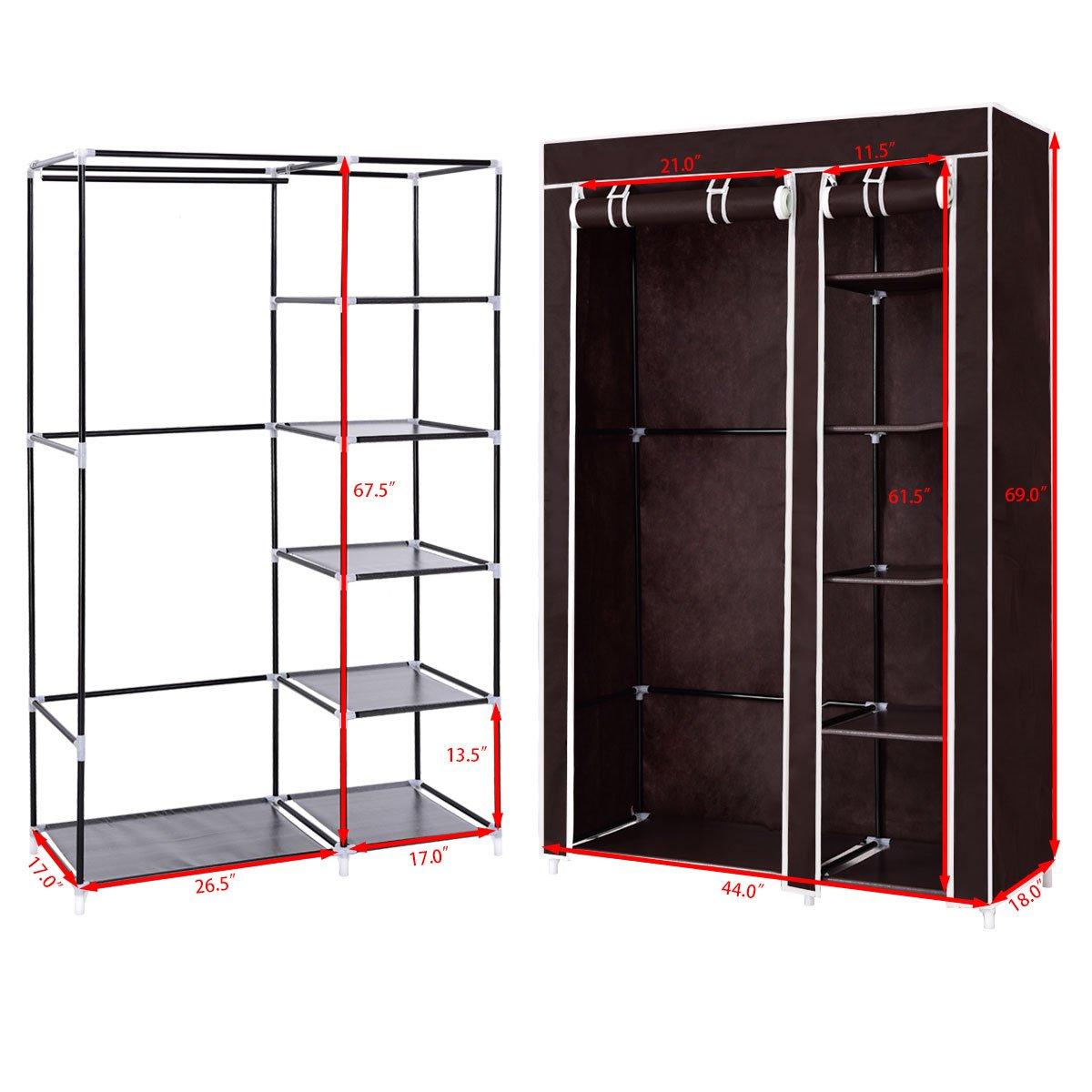 Amazon.com: Organizador portátil tanto para ropa como ...