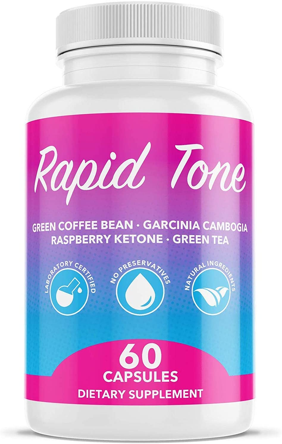 Rapid Tone Weight Loss Pills Supplement – Burn Fat Quicker – Carb Blocker, Appetite Suppressant, Fat Burner, Serotonin Increase – Natural Thermogenic Extreme Diet Fast WeightLoss for Women Men
