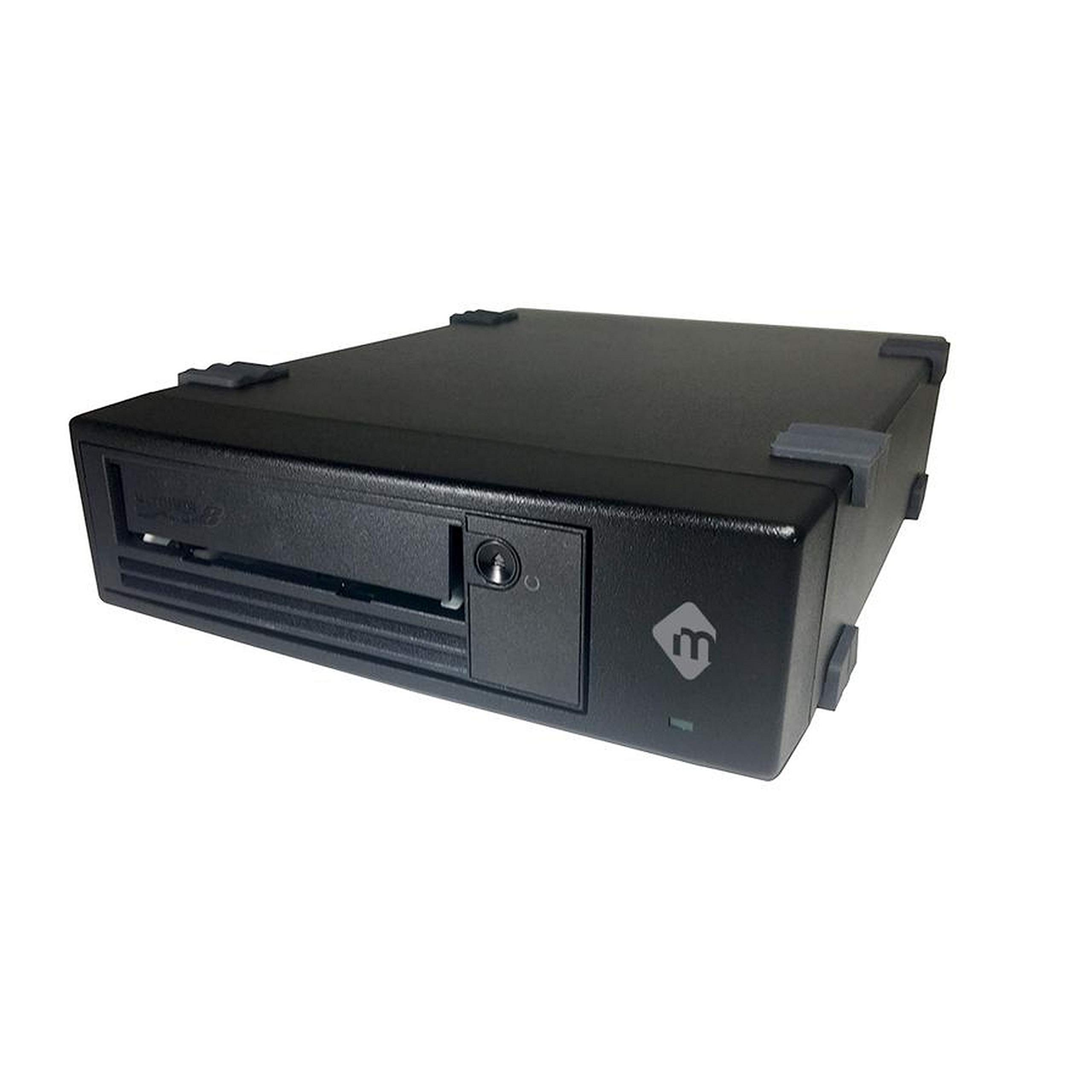 mLogic Desktop SAS LTO-8 Tape Drive for Windows and Linux with SAS Host Bus Adapter