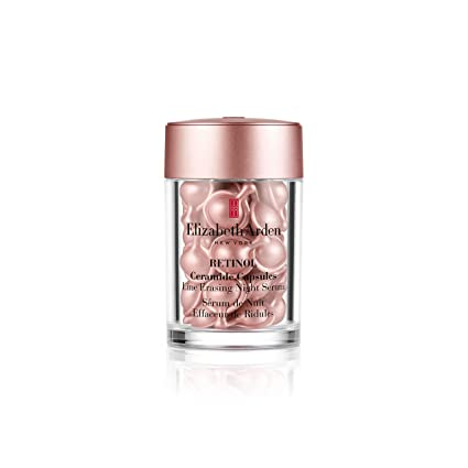 Elizabeth Arden Retinol Ceramide Capsules Line Erasing Night Serum: Amazon.de: Premium Beauty