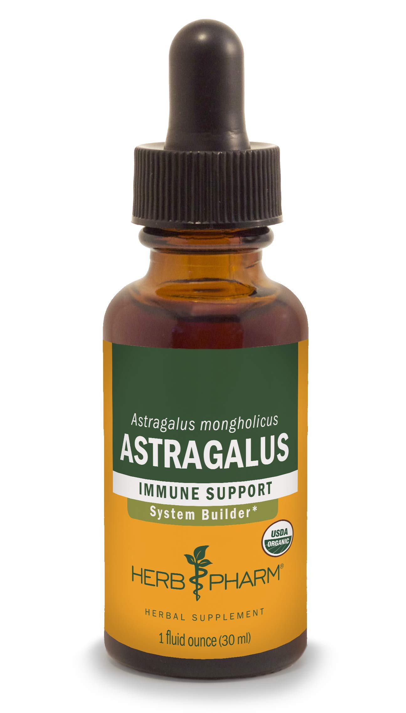 Herb Pharm Certified Organic Astragalus Extract for Immune System Support