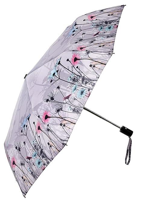 Plegable de flores silvestres paraguas de Perletti Chic