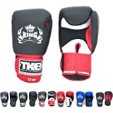 Top King Gloves Color Black White Red Blue Gold Size 8, 10, 12, 14, 16 oz Design Air, Empower, Superstar, and more for…