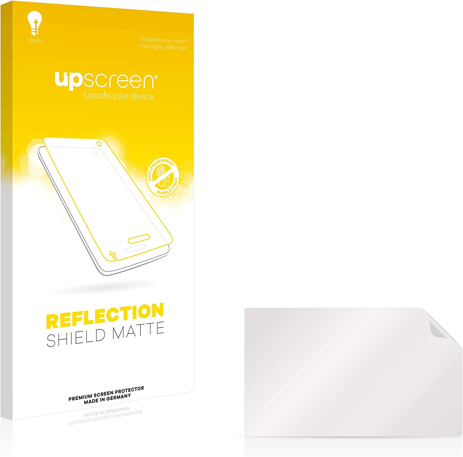 upscreen Anti-Glare Screen Protector compatible with BMW R 1200 GS 2013-2019 Navigator V 5 Protection Film Matte