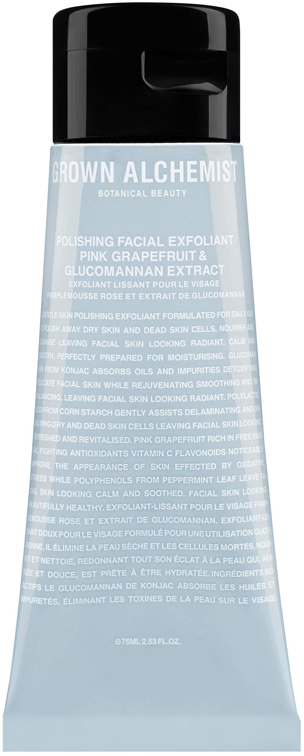 Grown Alchemist Polishing Facial Exfoliant - Pink Grapefruit & Glucomannan Extract (75ml / 2.53oz) by Grown Alchemist
