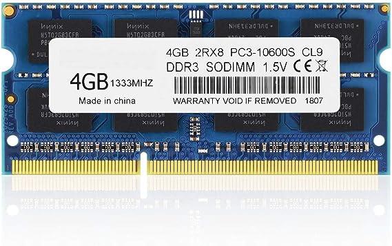 BPX PC3-10600, DDR3 1333, 4 GB DDR3 PC3 10600S 204 Patillas DDR3 ...