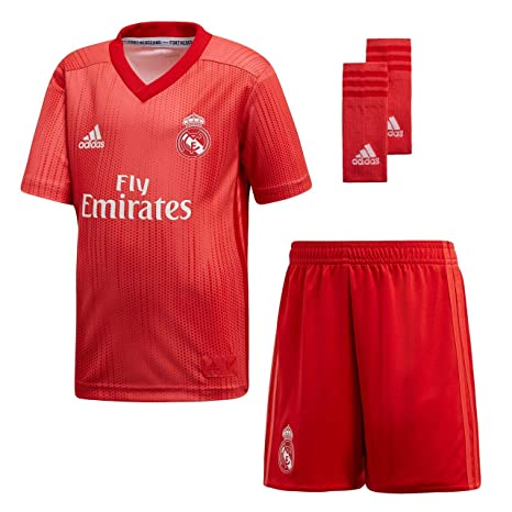 b876b06f26d Image Unavailable. Image not available for. Color: adidas 2018-2019 Real  Madrid Third Mini Kit