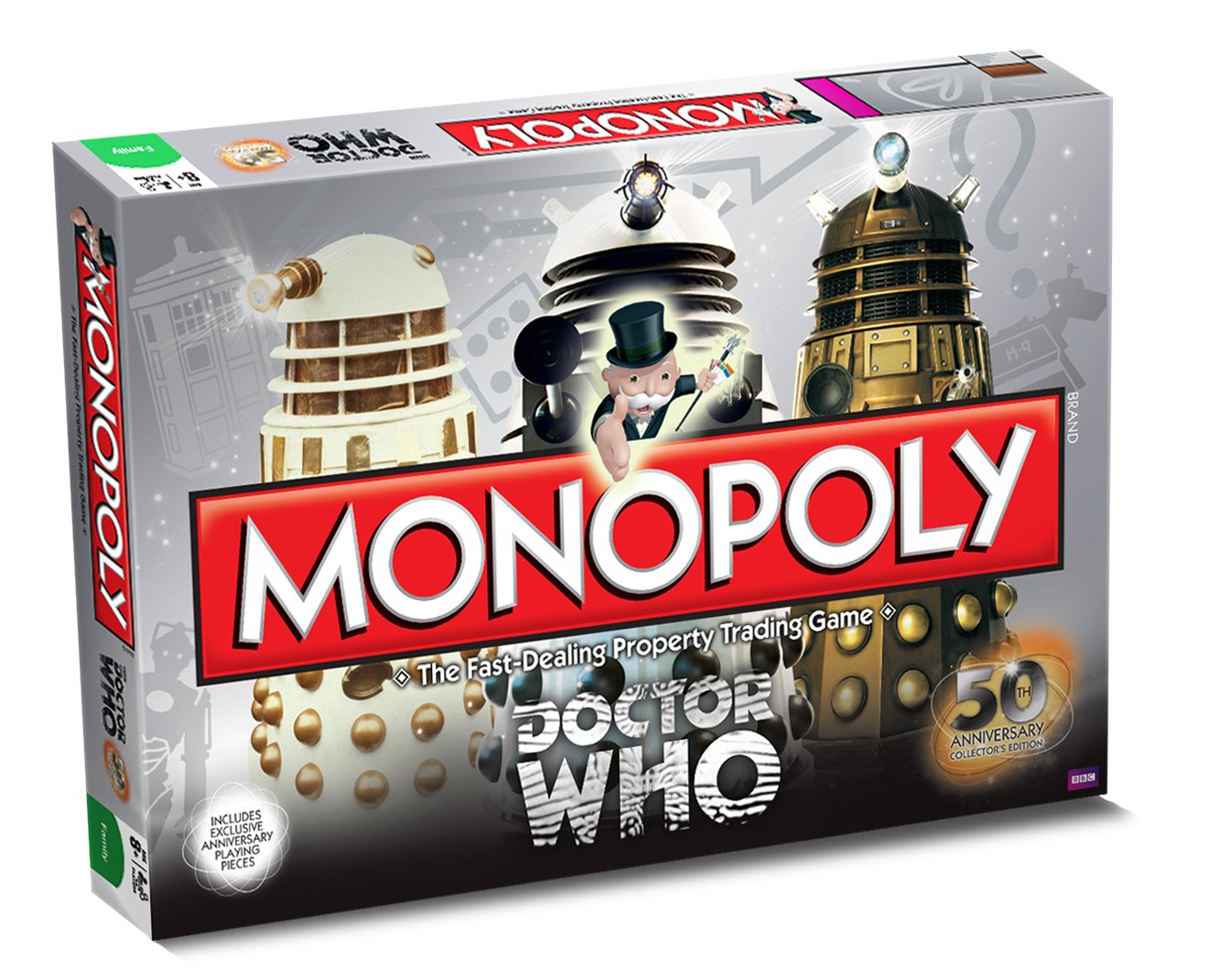 doctor who monopoly 50th anniversary collector\\\\\\\\\\\\\\\\\\\\\\\\\\\\\\\'s edition board game