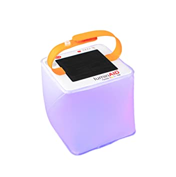 1x Solar Powered Inflatable Waterproof LED Torch Solar Lantern 150 Lumens Light Outdoor Sports