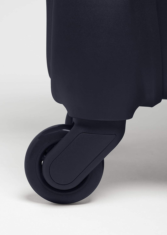 Black Bagage Cabine /à roulettes Lipault Original Plume Valise 4 Roues 55//20