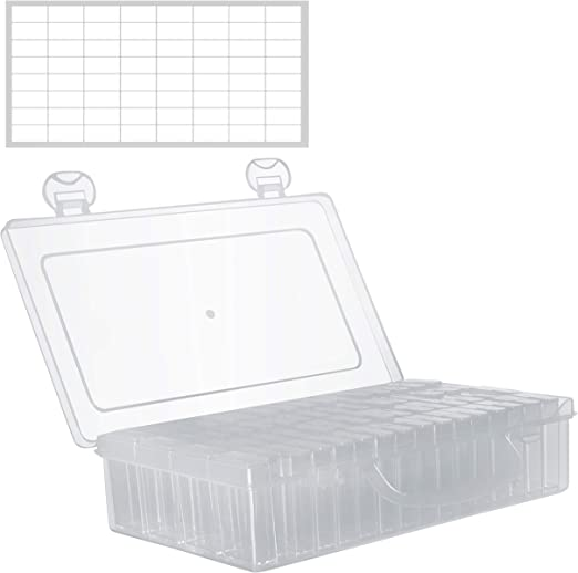 Cajas Organizadoras de Plastico 64 Contenedores Nail Art Diamante ...