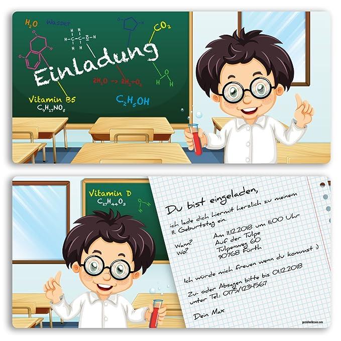 Invitaciones Cumpleaños Escuela Niños Niño Niña Invitación ...