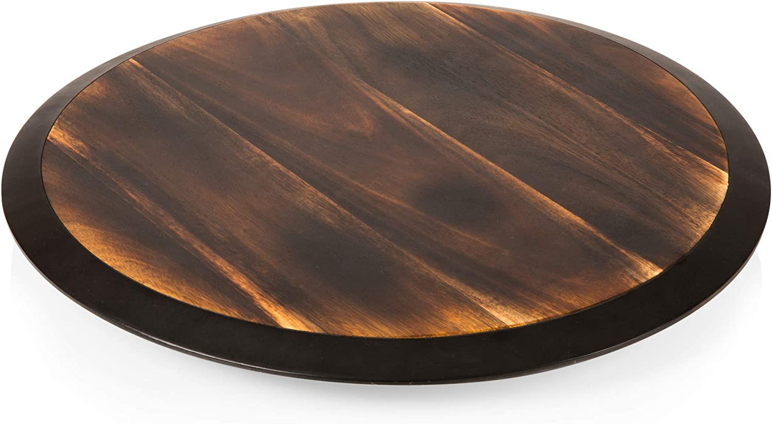 a Picnic Time brand 827-18-513-000-0 Lazy Susan Serving Tray One Size TOSCANA