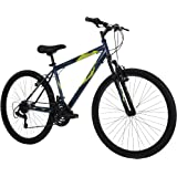 Huffy Hardtail Mountain Bike, Stone Mountain 26 inch, 21-Speed, Lightweight, Dark Blue