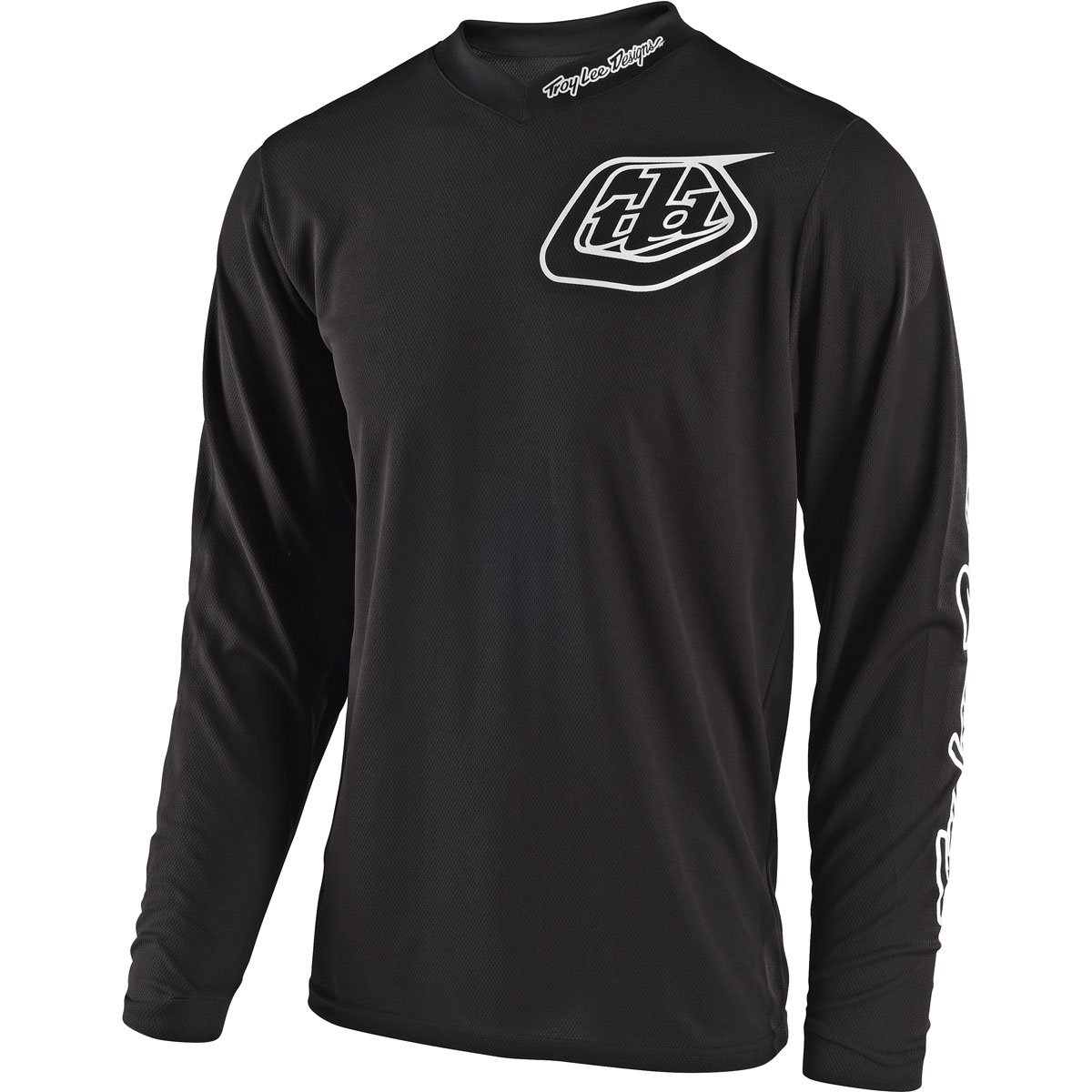 Troy Lee Designs Unisex GP Mono Jersey (Black, ADULT  XX-Large) by Troy Lee Designs (Image #1)