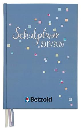 Betzold 758674 - Agenda escolar de diseño 2019/2020, tapa ...