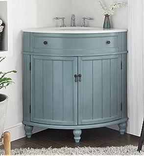 Exceptionnel 24u201d Vintage Light Blue Cottage Style Thomasville Bathroom Sink Vanity Model  # GD 47544BU