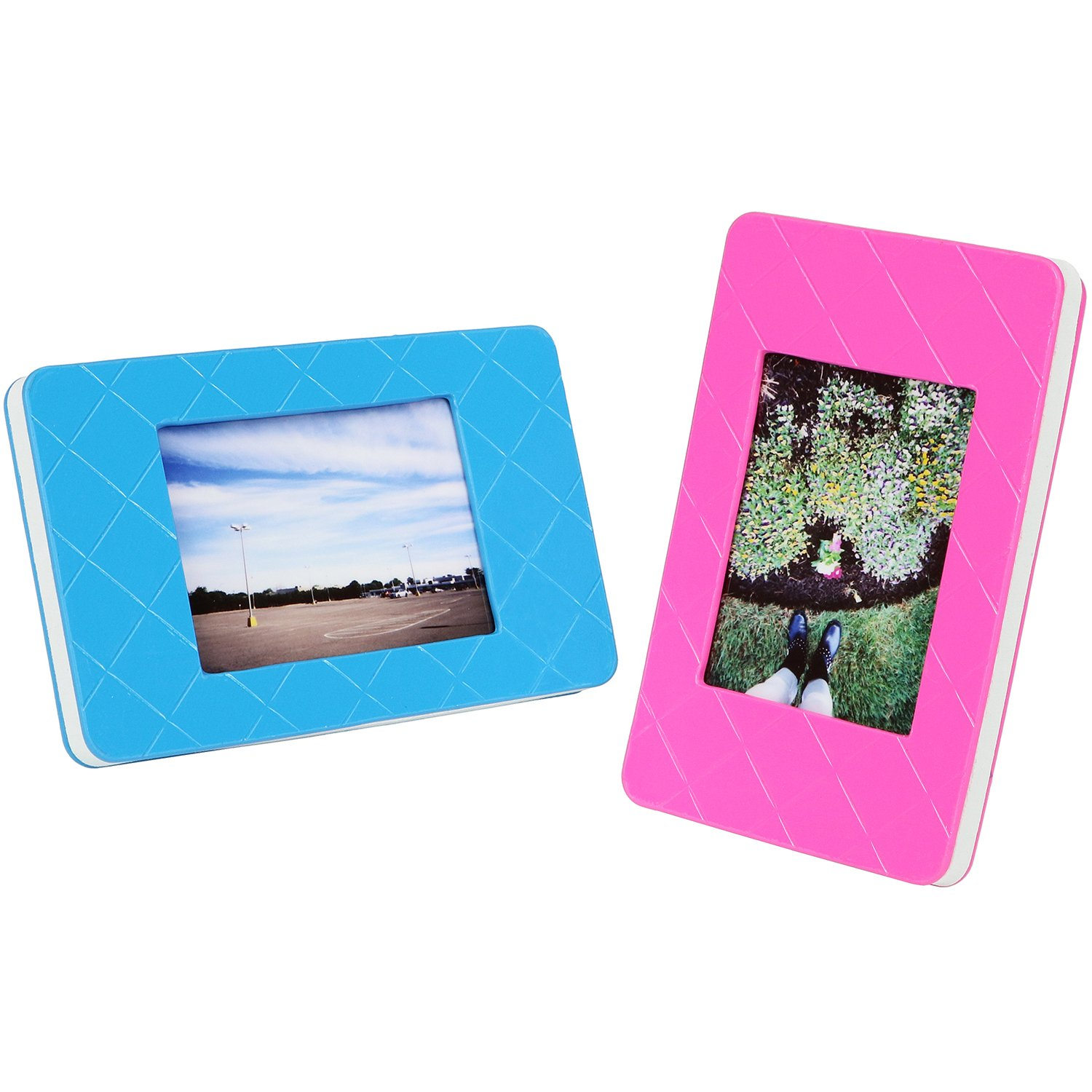 well-wreapped Fujifilm Instax Mini Picture Frames (Pink & Blue 2 ...