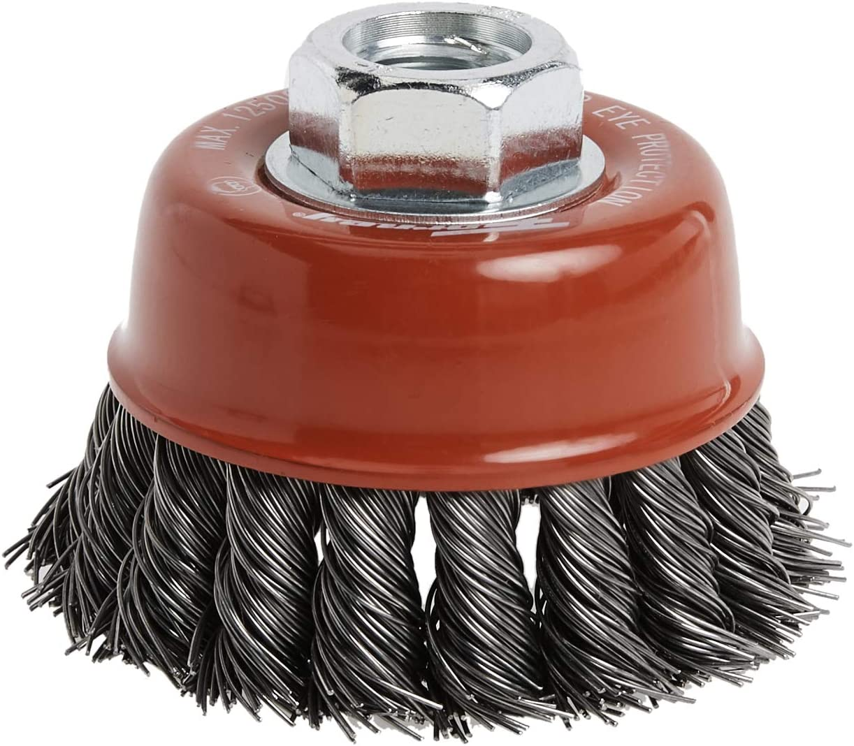 Victor Firepower 1423-2115 Knot Wire Cup Brush 4 x 5//8-11 for Grinder .020 Thick