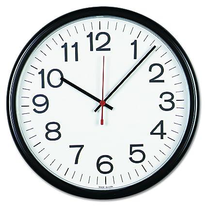 Amazon.com: Universal 11381 Indoor/Outdoor Clock, 13 1/2\