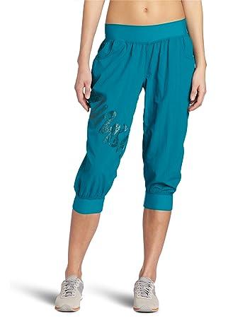 Amazon.com : Zumba Women's Fitness LLC Feelin It Cargo Capri ...