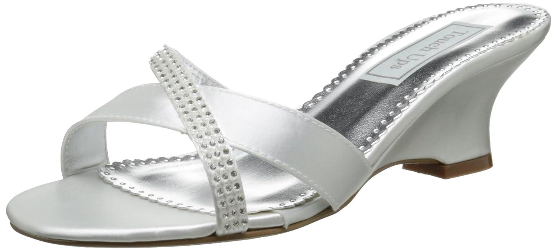 Touch Ups Women's Flair Wedge Sandal B00PD3JKVY 11 B(M) US|White