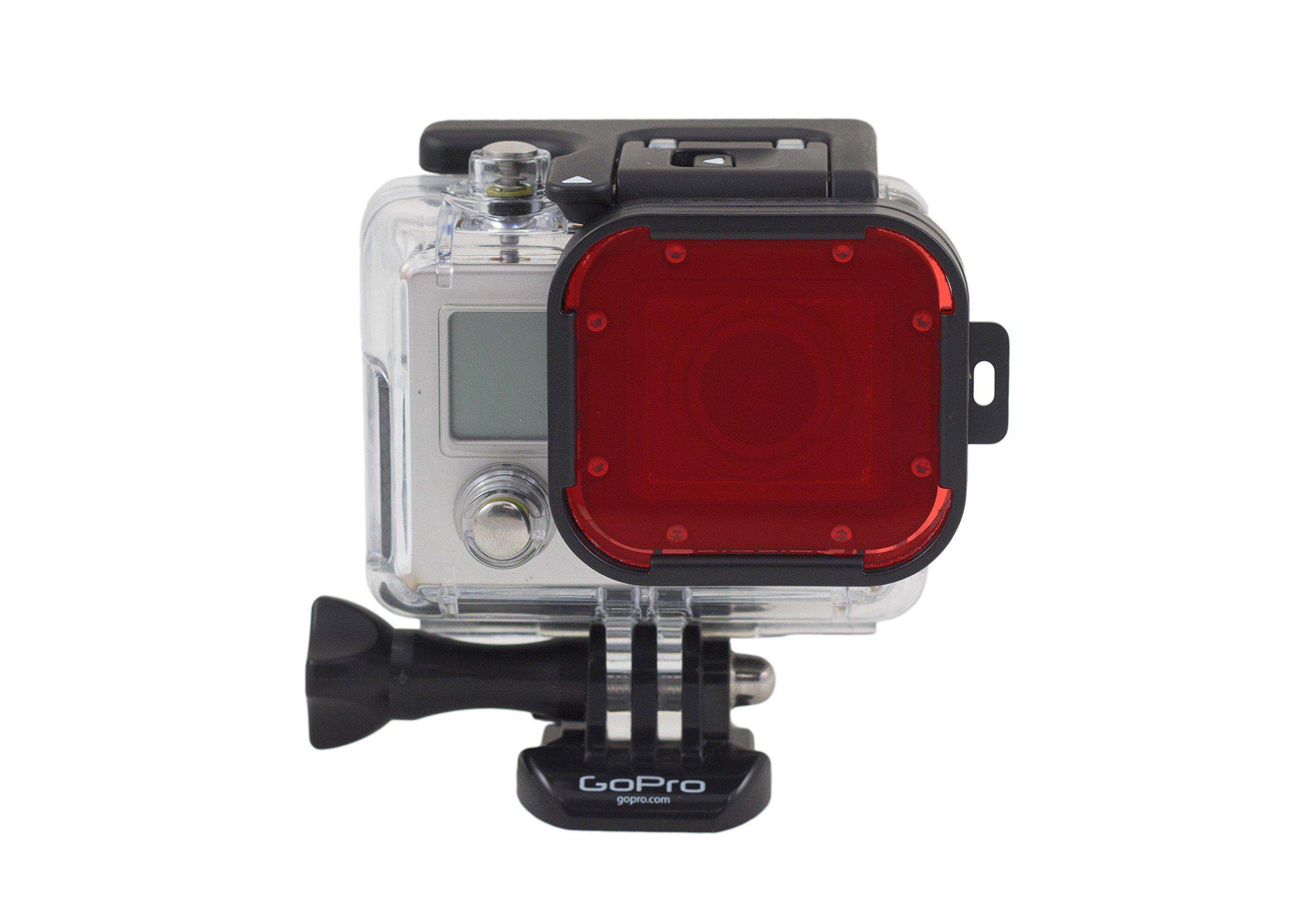 Polar Pro Red Filter-GoPro Hero3 Version-Acrylic Edition Accessory