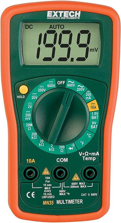 K Type Thermocouple Sensor Multimeter Temperature Probe Banana Plug BB