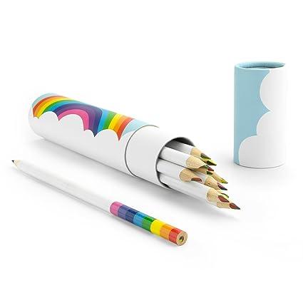 Amazon.com : MUSTARD - Rainbow Colored Pencils I Cute Coloring ...