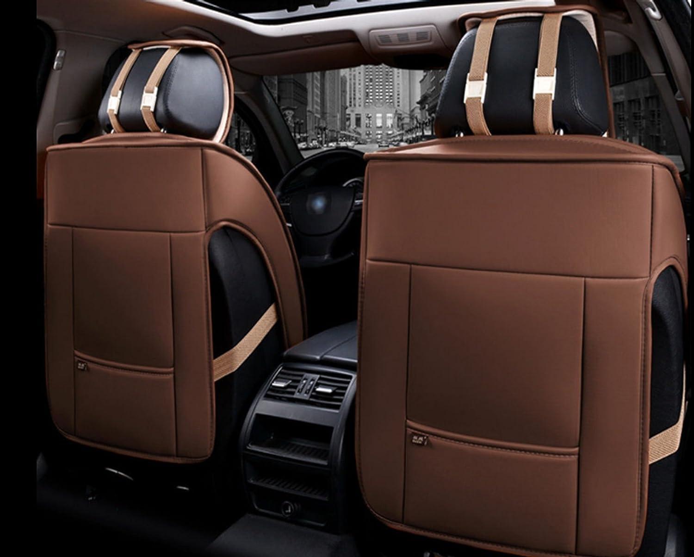 1+1 Vordere Elegant Autositzauflagen Braun Kunstleder Komfort Schonauflagen Neu
