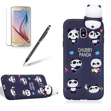 samsung galaxy j3 2017 coque panda emoji